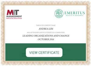 Leading Organizations and Change