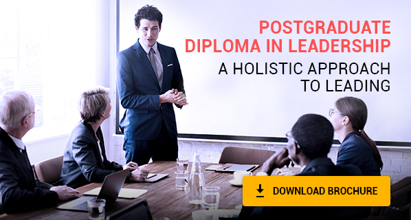 Postgraduate Diploma in Leadership | A Holistic Approach to Leading
